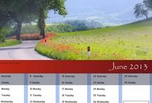 2013 calendar / This year's calendar - hope you like it