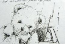 Sketchbook / Sketches from Caroline Crawford's sketchbook for www.paintingholidaysitaly.com
