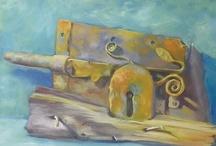 Caroline Crawford recent paintings