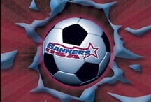 2012 Vinyl Soccer Banner Ideas from Banners USA / A collection of our Vinyl Soccer Team Banner templates from our renowned Banner Builder