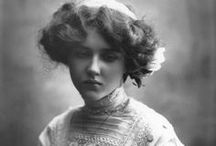 Edwardian / The beauty of the Edwardian times. Pictures about the style and grace of the 1910s women.