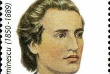 Mihai Eminescu / Mihai Eminescu was a Romantic poet, novelist and journalist, often regarded as the most famous and influential Romanian poet.