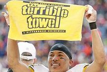 "Terrible Towel Curse / ""I did not see the Terrible Towel as witchcraft to hex the enemy. It would be a positive force, driving the Steelers to superhuman performance, but if it experienced a yen for mischief and created fatal mistakes by opponents, I would tolerate that.""  ~Myron Cope However..."