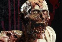 Зомби, кошмары - ужасы, horror