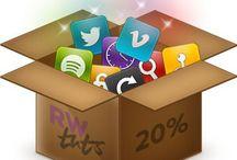 Webdesign og Sociale medier / Webdesign og Sociale medier er sammenspillet mellem en hjemmeside og de sociale medier