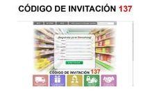 Regístro en www.137.devuelving.com / Regístraté en www.137.devuelving.com código de invitación 137 y aprovecha de comprar ofertas de marcas durante todo el año.