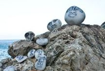 Rock painting ideas / Explore your creativity!