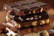 Schokolade: Black & White