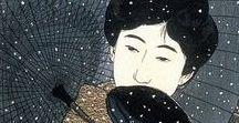 Japanese Art / Pure contemplation, peacefulness and balance.