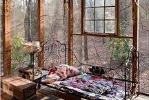 Indoor - Outdoor / Schöne Orte zum Wohlfühlen und Träumen