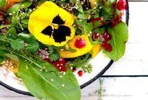 Fresh salads / Fresh. What else? :)