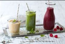 smoothies / with fruits, vegetables, milk or vegan | just yummy