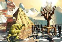 - Digital ART / ART numérique - / Discover digital art of ARTactif.  Découvrez l'art numérique de nos artistes ARTactif.