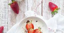 strawberry recipes | Erdbeeren Rezepte / We love strawberries
