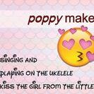 Poppy Makes... Music / Here I will pin and save all the ukelele videos I have made. The videos aren't necessarily tutorials but more like a sing-a-long and play-a-long type of video. I am still learning to play the uke so by making videos like these I thought it would be fun to keep you up to date on my progress.