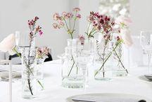 Tischdeko | table chic / Create a beautiful table art.