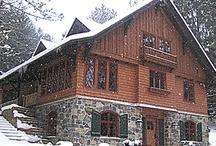 Hidden Valley Ski Lodge / Ski cottage renovation/build ideas.  Rustic Modern