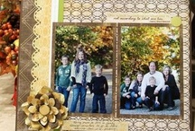 Traditional scrapbook album pages/projects / by Rebecca Raynsford