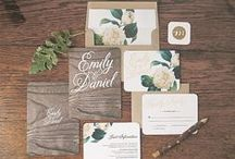 Wedding Invitations / Find the perfect invitations, thank you cards and other paper musts for your wedding! / by DiamondNexus