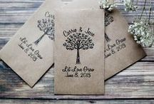 Wedding Favors / Wedding favors should be fun gifts to show your gratitude to your guest for joining you on one of the biggest days of your life. Take a look at some unique and creative wedding favors what we adore. / by DiamondNexus