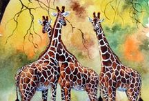 Giraffes  (Raffies!) / by Linda Imus