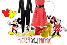 Disney Fashion....Mickey, Minnie, & Walt / Mickey, Minnie, and Walt inspired fashion!  These pins are not exclusively mine, so feel free to pin as many as you want without fear of being blocked!