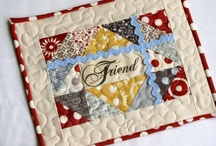 Mug Rug's, Potholder's and Placemat's / by Jenny B