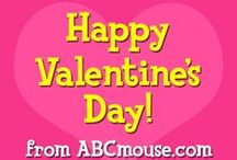 Valentine's Day / Try some of these creative Valentine's Day crafts for February. Parents: Make a cute craft with your child for his teacher and/or classmates. Teachers: If you need an idea for a Valentine's Day-themed lesson, check these out!   / by ABCmouse.com Early Learning Academy