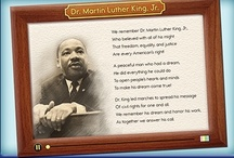 Dr. Martin Luther King, Jr. Day / Here's some inspiration for lesson activities related to Dr. Martin Luther King, Jr. and why we honor his birthday as a national holiday by remembering his message. / by ABCmouse.com