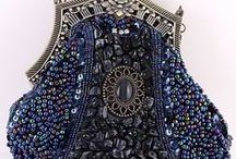 Beaded Bags / These pins are not exclusively mine, so feel free to pin as many as you want without fear of being blocked! / by Linda Imus