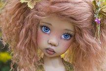 Dolls #5....BJD 2 / Dolls From Artists: Kaye Wiggs, Bo Bergemann, Helen Kish, Ellowyne Wilde and Martha Boers / by Linda Imus