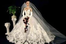 Dolls #7......Bride Dolls / These pins are not exclusively mine, so feel free to pin as many as you want without fear of being blocked! / by Linda Imus