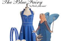 Disney Fashion.....The Blue Fairy / These pins are not exclusively mine, so feel free to pin as many as you want without fear of being blocked!