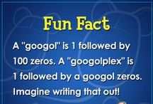 Fun Facts / We're pinning some of our favorite fun facts on this board! / by ABCmouse.com