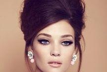 hair / Retro, Bridal, Vintge hair style, hair accessories