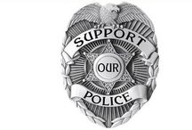 Support Our Police / I'm just sick of the war against police...they put their lives on the line every day to make our streets safe and I appreciate and respect them and the job they do. I support law enforcement!  / by Linda Imus