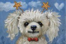 Doggy Art & Illustration / by Linda Imus
