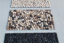 Rock on / Crafts and decor using pebbles stones and rocks and shells / by Jem