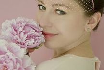 Think Pink / Wedding / Pink wedding, bridal fashion