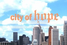 Hope in the City / God is working mightily in the city of Detroit and other urban areas. We are excited to see what He has in store!