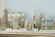 Christmasy....Christmas Villages / I love setting out my Christmas Village every year / by Linda Franzen