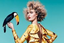 F a s h i o n ` a n i m a l s / #Animal in #fashion #ad #style #mode #editorial