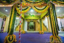 Mandapam inspiration / Mandapam decoration inspiration