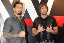 "wrestling / Colby Lopez - Seth Rollins, Jonathan Good - Dean Ambrose, Leati Joseph ""Joe"" Anoa'i - Roman Reigns."