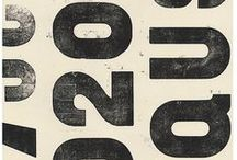 Pinspiration / Letters, numbers and graphic inspiration.