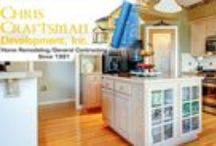 General Contractor - Chris Craftsman / Since 1991, Chris Craftsman has been providing residents and businesses in Westchester County, Manhattan, Bronx, Queens and Fairfield County, Connecticut with reliable and professionally designed building and remodeling services.