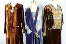 Ian Drummond Collection 1920s Ladies Capes, Dresses etc. / An assortment of 1920s ladies capes, coats dresses etc. from our movie wardrobe rental stock.