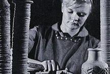 Pentik Finland / Astioita, taidekeramiikkaa, taide-esineitä, koristeita, sisustus elementtejä... Anu Pentik..