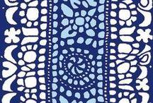 Marimekko designer Isola / Kankaita, kauniita klassikko kuoseja, printtejä... fabrics by Maija Finland
