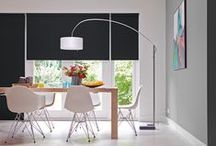 Interior Window Coverings / Whether you seek a roller blind, panel glide, roman shade or vertical blind, Sunway has the finest selection of plain and textured, blockout, translucent & sheer fabric to suit your style and every need.